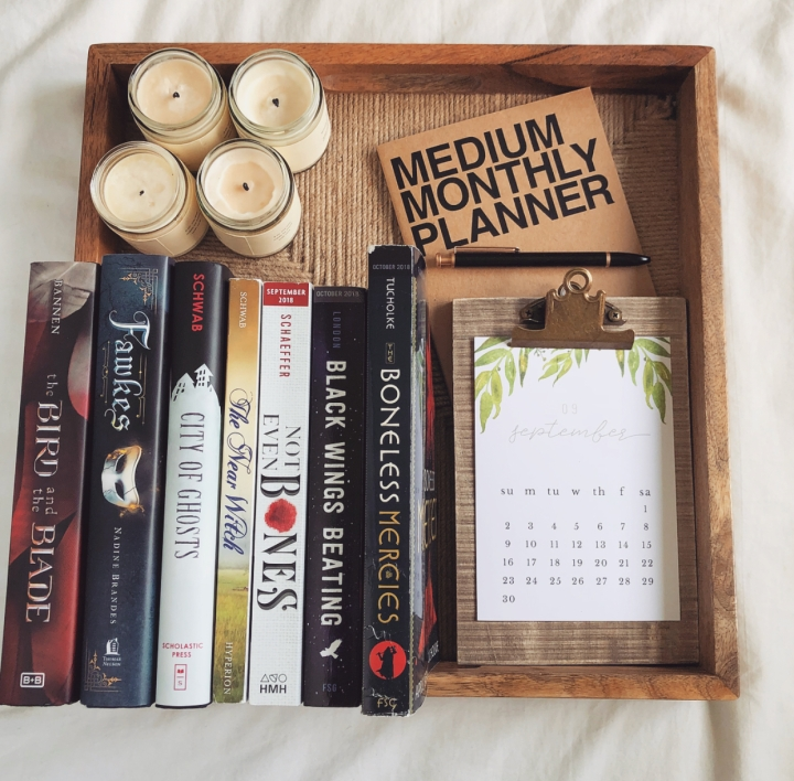 August Wrap-Up & September TBR